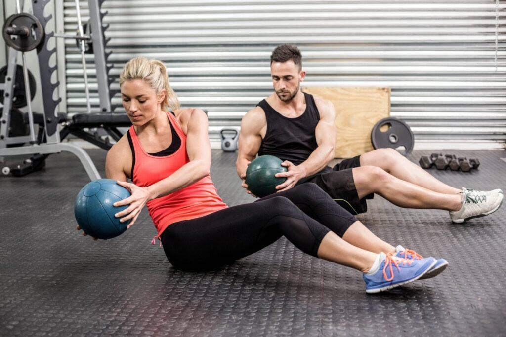 gym flooring workout