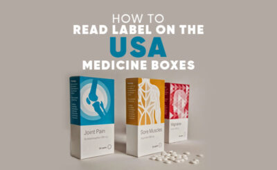 How to Read Label on the USA Medicine Boxes