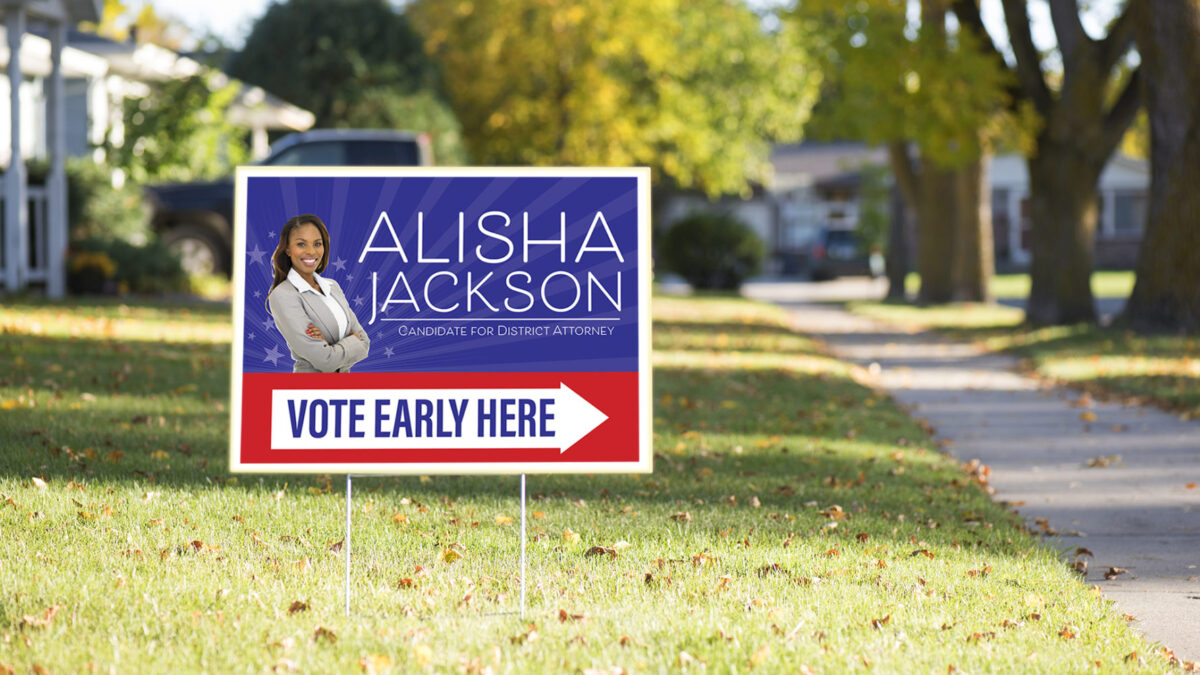 Are You Following Rules for Displaying Political Yard Signs?