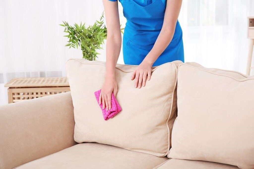 sofa clean professionally