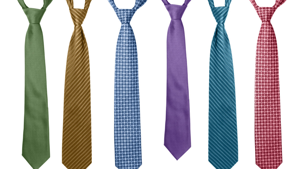 # of different kinds of ties