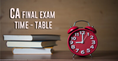 Does CA final Test May 2021 is effective for graduates?