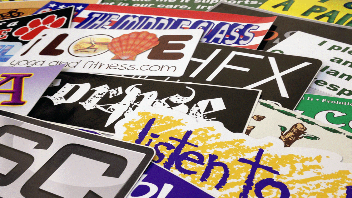 How Stickers Can Influence Your Target Market