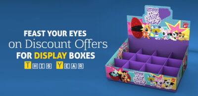 Feast Your Eyes on Discount Offers for Display Boxes this Year