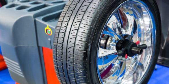 Right Yokohama Tyre from Dubai