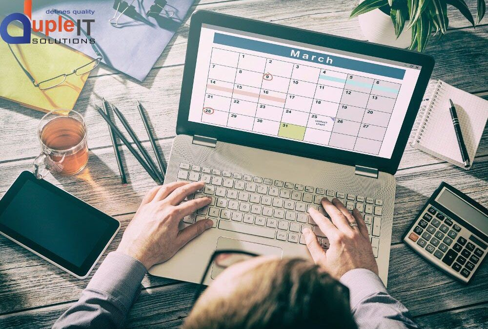 TIPS TO MAKE YOUR WORK SCHEDULING EFFECTIVE