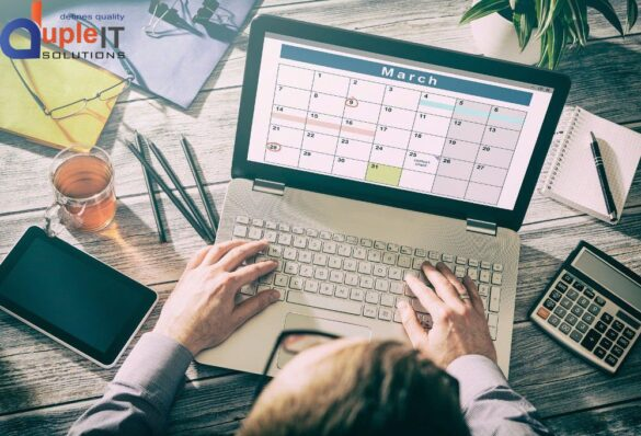 TIPS TO MAKE YOUR WORK SCHEDULING EFFECTIVE - DUPLE IT SOLUTIONS