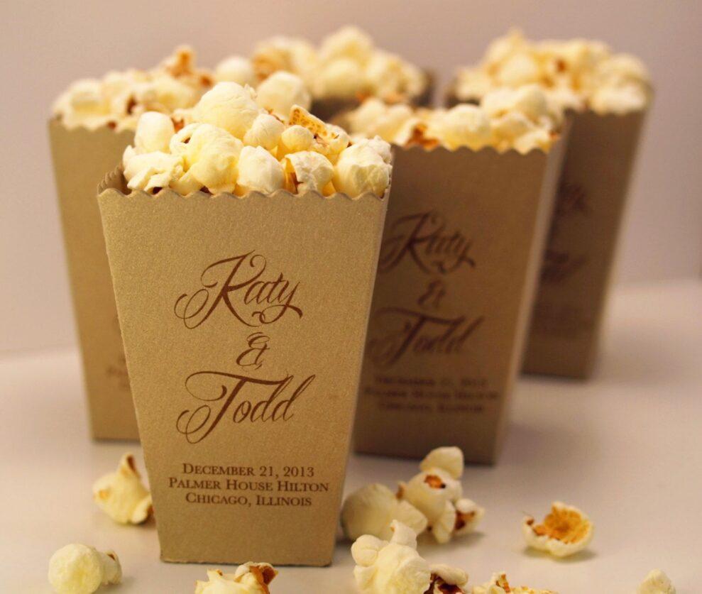 printed popcorn boxes
