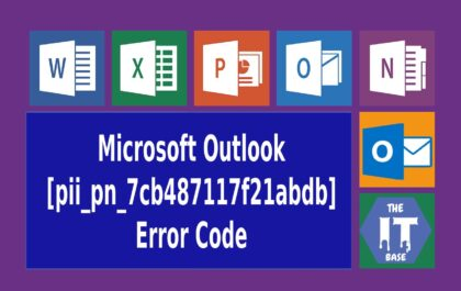 type of Microsoft Outlook [pii_pn_7cb487117f21abdb]