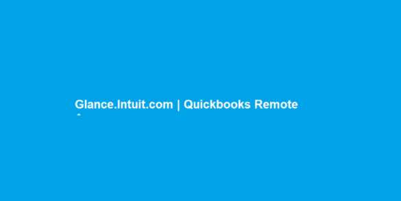 Glance.Intuit quick book