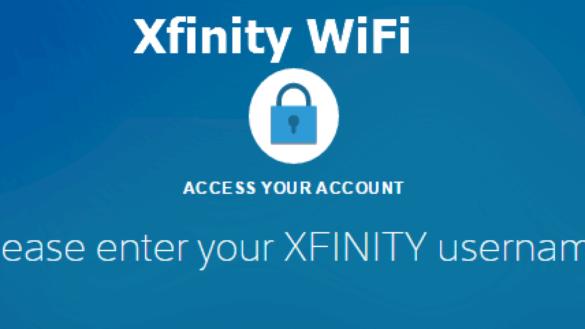 Xfinity Hotspot WiFi Username and Password Hack
